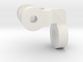 "3/4"" Scale Nathan Whistle Handle Support in White Strong & Flexible"