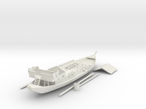 Rivership V2 in White Natural Versatile Plastic