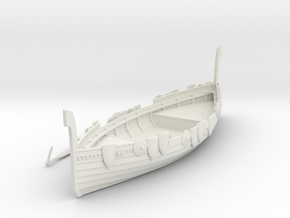 Russian Warship V3 in White Natural Versatile Plastic