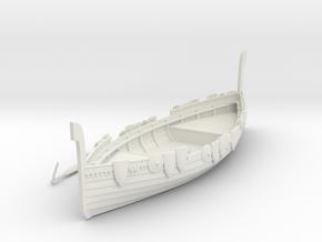 Russian Warship V3 in White Natural Versatile Plastic