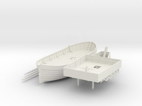 Swedish Warship V2 in White Natural Versatile Plastic
