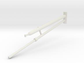 36B-J Mission-Pushing Rod Scenario 2 in White Natural Versatile Plastic