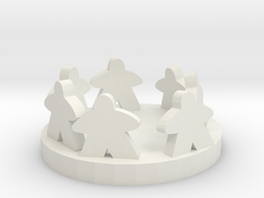 Circle Of Friends in White Natural Versatile Plastic