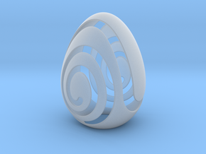 EggShell in Smooth Fine Detail Plastic
