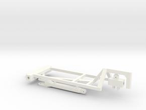 1/64 1000&1200 Gal Twin Tank Cart Kit in White Processed Versatile Plastic