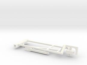 1/64 2000 Gal Dual NH3 Cart Kit in White Processed Versatile Plastic