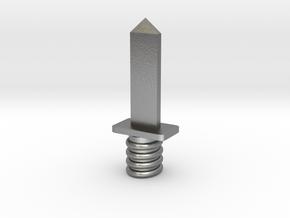 Dagger in Natural Silver