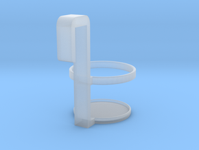 Cup Holder in Smooth Fine Detail Plastic