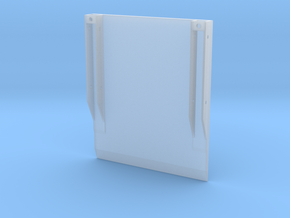 Trench Box Side Plate-1 in Smooth Fine Detail Plastic