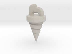 Core Drill Tengen Toppa Gurren Lagann in Natural Sandstone