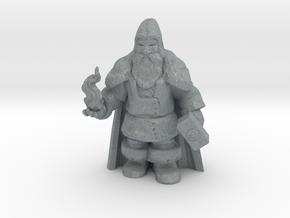 Morek Brightstone, Outcast Dwarven Sorcerer in Polished Metallic Plastic