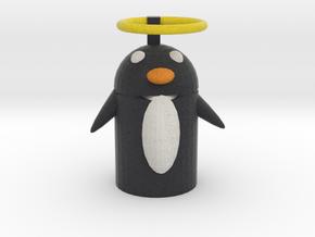 Saint Penguinius Penguin  in Full Color Sandstone
