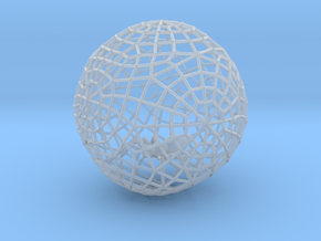 Bauble, Ball, Spider in Web in Smooth Fine Detail Plastic