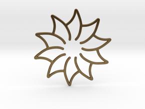 Dreamcatcher - Flower in Natural Bronze