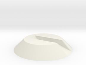 5rnlhhnhsaf1rudvq5okucbkp2 56235889.stl in White Natural Versatile Plastic
