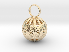 Ornament Pendant in 14K Yellow Gold