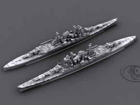 1/1800 IJN CA Suzuya[1942] in White Natural Versatile Plastic