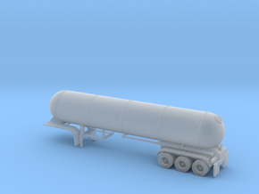 N scale 1/160 LPG 45' triple-axle Tanker in Frosted Ultra Detail