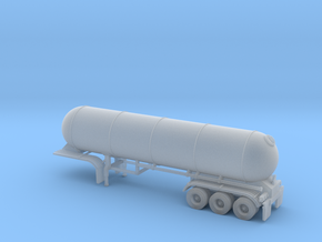 N scale 1/160 LPG 40' triple-axle, trailer 15 in Smooth Fine Detail Plastic