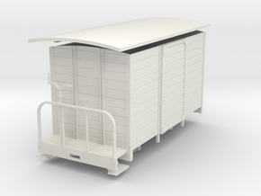 Oe medium van with brake platform in White Natural Versatile Plastic