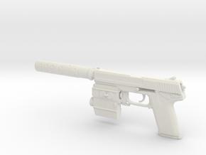 1/6 Socom MK23 in White Natural Versatile Plastic