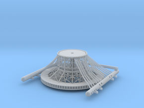 Tower Base V0.5a in Smooth Fine Detail Plastic