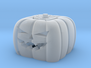 Pumpkin Keycap — Plastic & Resin in Smooth Fine Detail Plastic