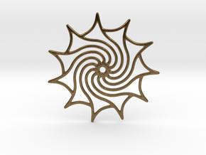 Dreamcatcher in Natural Bronze
