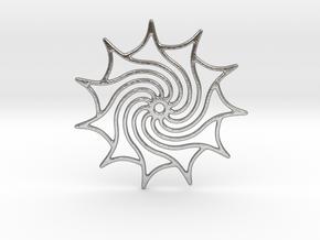 Dreamcatcher in Natural Silver