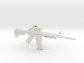 1/6 MA 41 Carbine in White Natural Versatile Plastic