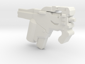 Burst SMG in White Natural Versatile Plastic