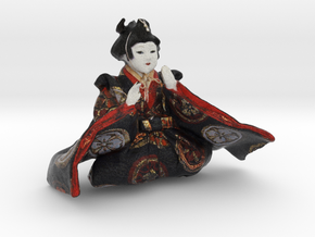 The Japanese Hina Doll-2 in Full Color Sandstone
