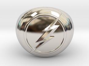 Flash Ring Size US14 in Platinum