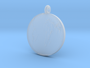 Flat Earth in Smooth Fine Detail Plastic