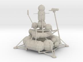 Luna - Moon Mission in Natural Sandstone
