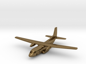 1:700 Transall C-160 military transport aircraft  in Natural Bronze