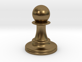 Pawn in Natural Bronze