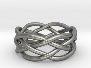 Dreamweaver Ring (Size 9) in Natural Silver