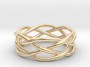 Dreamweaver Ring (Size 9.5) in 14K Yellow Gold