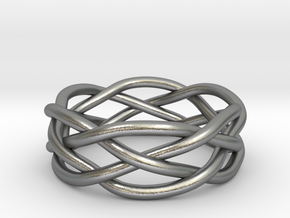 Dreamweaver Ring (Size 9.5) in Natural Silver