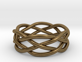 Dreamweaver Ring (Size 11.5) in Natural Bronze