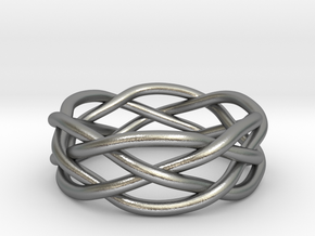 Dreamweaver Ring (Size 12) in Natural Silver