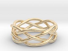 Dreamweaver Ring (Size 12.5) in 14K Yellow Gold