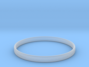 Good Value Bracelet in Smooth Fine Detail Plastic