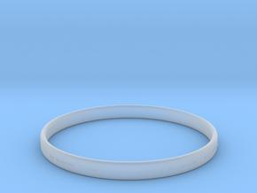 Good Value Bracelet in Smooth Fine Detail Plastic