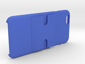 iPhone 6+/6 PLUS Dash/Windshield Mountable Case in Blue Processed Versatile Plastic