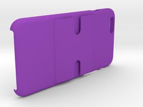 Iphone 6 Phone Case & Windshield/Dash Mount in Purple Processed Versatile Plastic