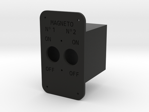 Magneto Switch British in Black Natural Versatile Plastic