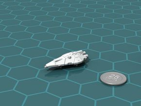 Terran Fighter in White Strong & Flexible