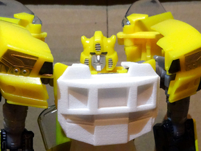Gen. Windcharger (G1 Version) Chestplate in White Processed Versatile Plastic